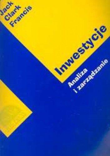 Okładka książki Inwestycje. Analiza i zarządzanie