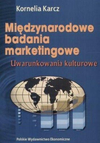 Okładka książki Międzynarodowe badania marketingowe