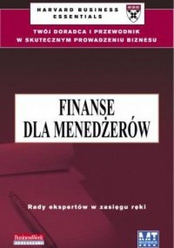 Okładka książki Finanse dla menedżerów