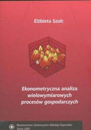 Okładka książki Ekonometryczna analiza wielowymiarowych procesów