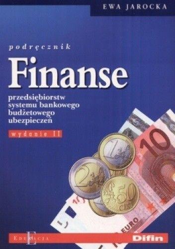 Okładka książki Finanse przedsiębiorstw systemu bankowego budżetowego ubezpieczeń