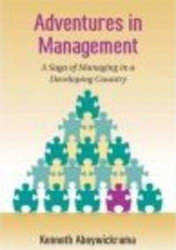 Okładka książki Adventures in Management