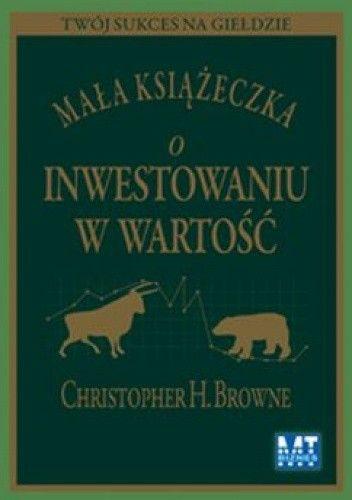 Okładka książki Mała książeczka o inwestowaniu w wartość