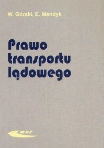Okładka książki Prawo transportu lądowego