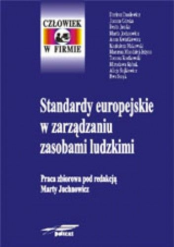 Okładka książki Standardy europejskie w zarządzaniu zasobami ludzkimi