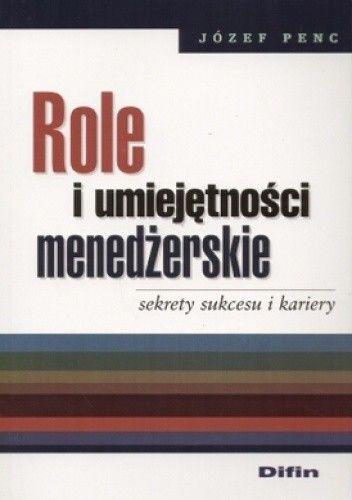 Okładka książki Role i umiejętności menedżerskie