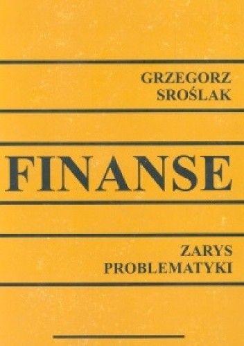 Okładka książki Finanse. Zarys problematyki