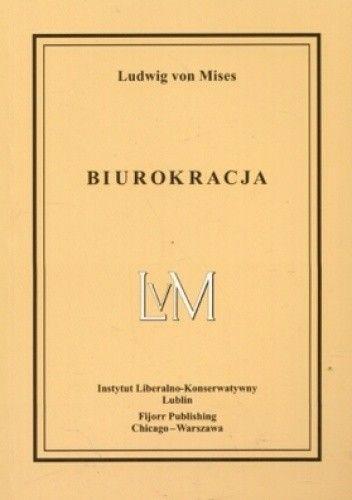 Okładka książki Biurokracja