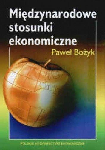 Okładka książki Międzynarodowe stosunki ekonomiczne