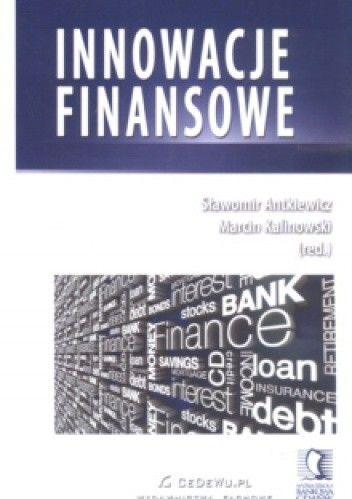 Okładka książki Innowacje finansowe