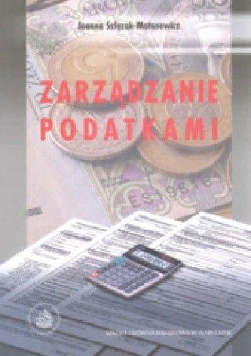 Okładka książki Zarządzanie podatkami