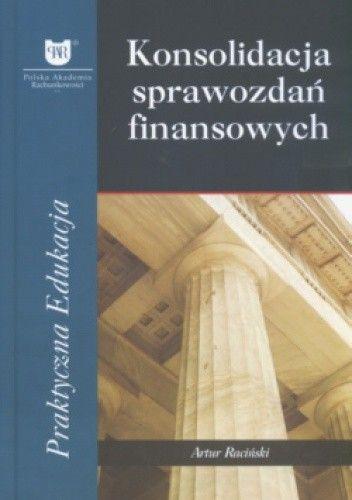 Okładka książki Konsolidacja Sprawozdań Finansowych