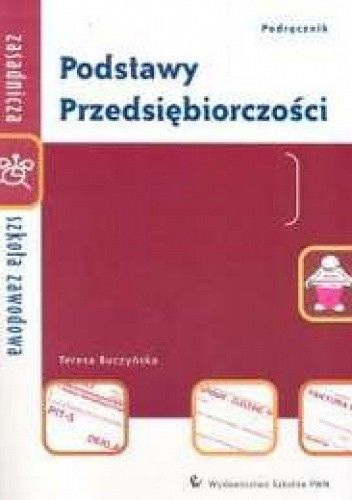 Okładka książki Podstawy przedsiębiorczości zSz Podręcznik