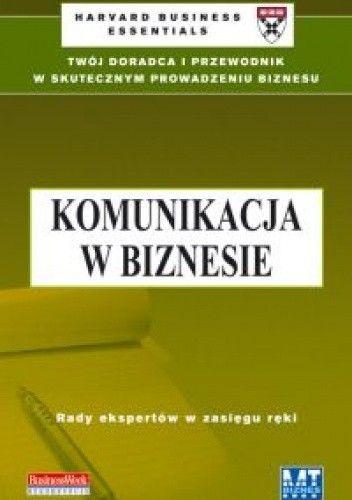 Okładka książki Komunikacja w biznesie
