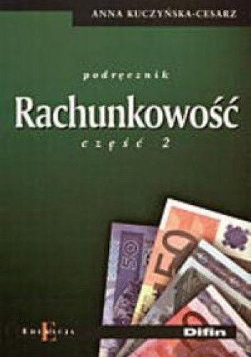 Okładka książki Rachunkowość. Podręcznik Część 2
