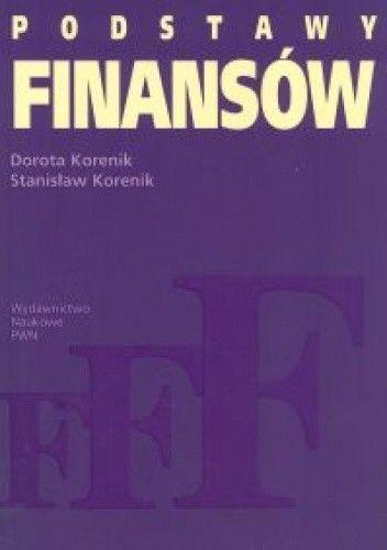 Okładka książki Podstawy finansów