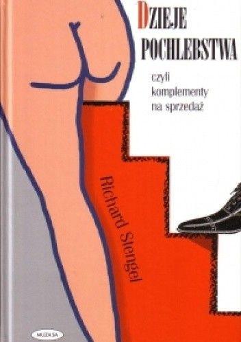 Okładka książki Dzieje pochlebstwa czyli komplement na sprzedaż