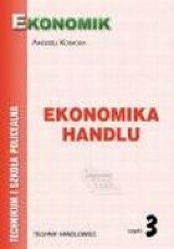 Okładka książki Ekonomika handlu cz.3