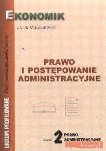 Okładka książki Prawo i postępowanie administracyjne 2 2004