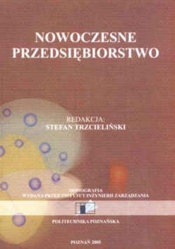 Okładka książki Nowoczesne przedsiębiorstwo