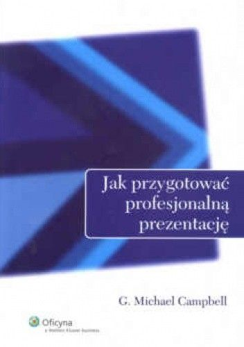 Okładka książki Jak przygotować profesjonalną prezentację