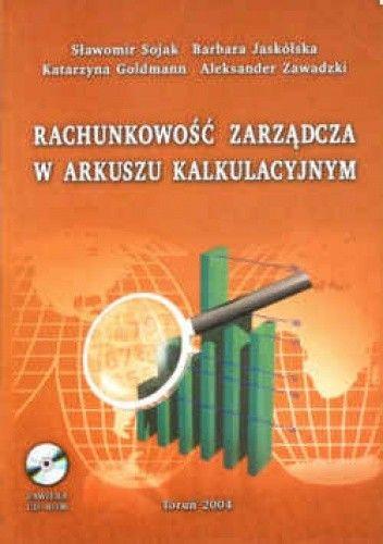 Okładka książki Rachunkowość zarządcza w arkuszu kalkulacyjnym