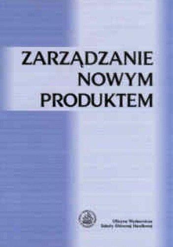 Okładka książki zarządzanie nowym produktem