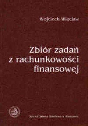 Okładka książki zbiór zadań z rachunkowości finansowej