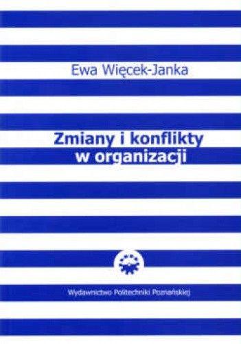 Okładka książki zmiany i konflikty w organizacji