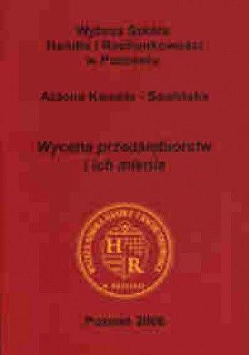 Okładka książki Wycena przedsiębiorstw i ich mienia