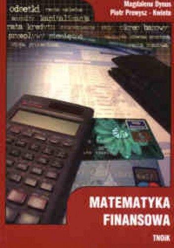 Okładka książki Matematyka finansowa