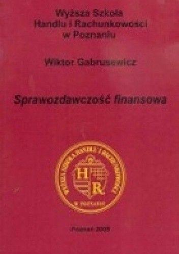 Okładka książki Sprawozdawczość finansowa
