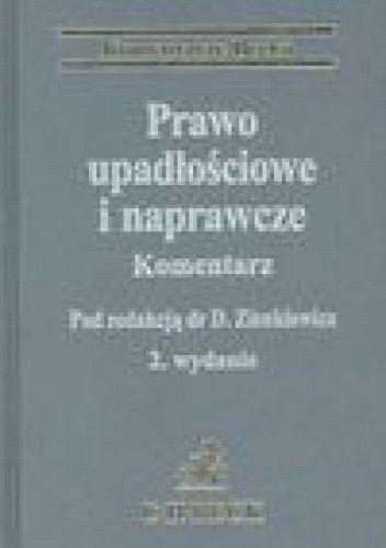 Okładka książki Prawo upadłościowe i naprawcze. Komentarz