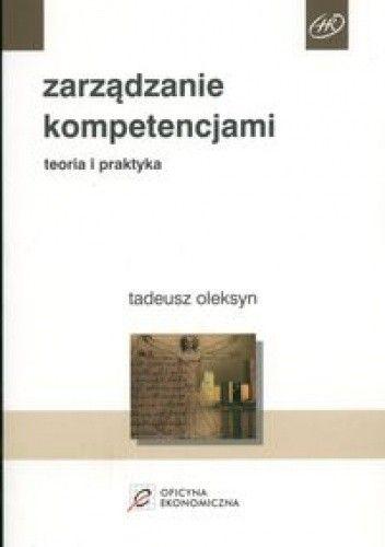 Okładka książki zarządzanie kompetencjami. Teoria i praktyka
