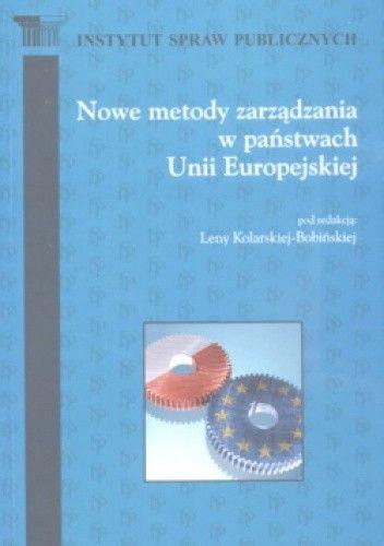 Okładka książki Nowe metody zarządzania w państwach Unii Europejskiej