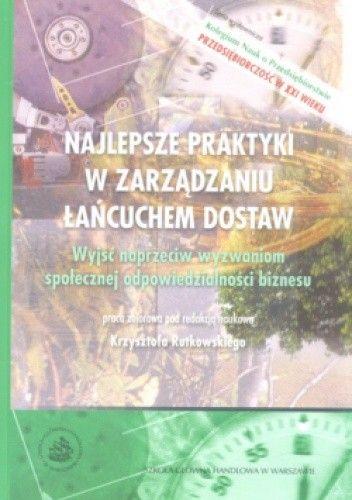 Okładka książki Najlepsze praktyki w zarządzaniu łańcuchem dostaw