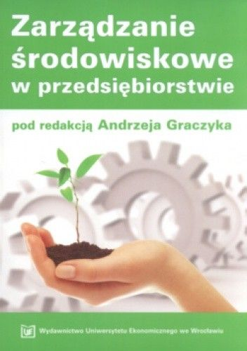 Okładka książki zarządzanie środowiskowe w przedsiębiorstwie