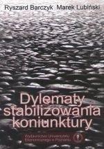 Okładka książki Dylematy Stabilizowania Koniunktury