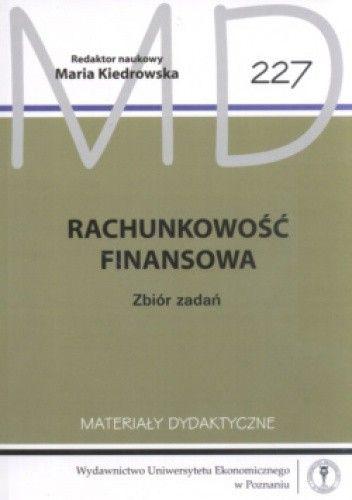 Okładka książki Rachunkowość Finansowa  Zbiór Zadań