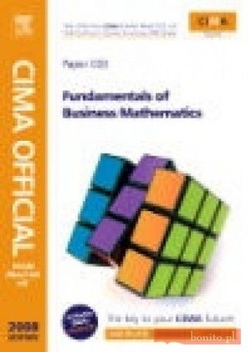 Okładka książki CIMA Official Exam Practice Kit Fundamentals of Business Mat