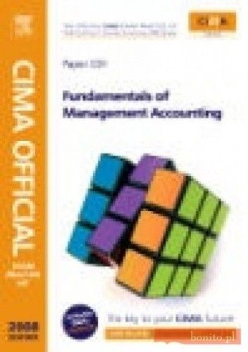 Okładka książki CIMA Official Exam Practice Kit Fundamentals of Management