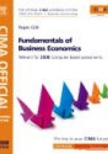 Okładka książki CIMA Official Learning System Fundamentals of Business Econo