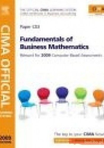 Okładka książki CIMA Official Learning System Fundamentals of Business Maths