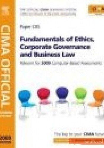 Okładka książki CIMA Official Learning System Fundamentals of Ethics Corporp