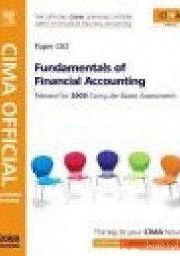 Okładka książki CIMA Official Learning System Fundamentals of Financial Acco