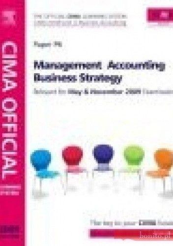Okładka książki CIMA Official Learning System Management Accounting Business