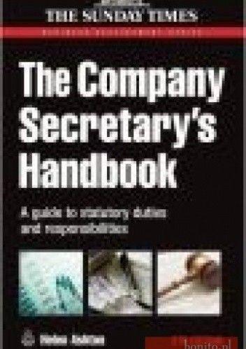 Okładka książki Company Secretary's Handbook