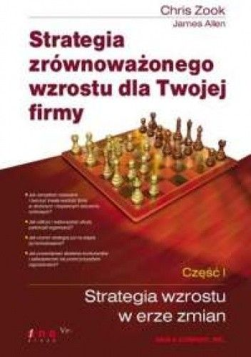 Okładka książki Strategia zrównoważonego wzrostu dla Twojej firmy. Część I. Strategia wzrostu w erze zmian.