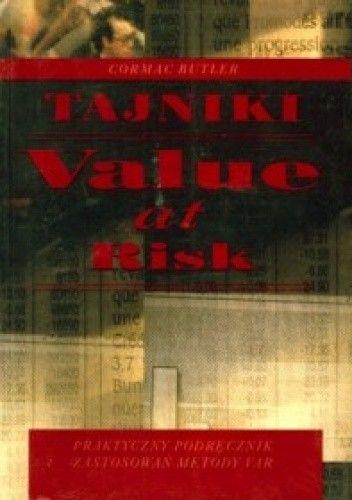 Okładka książki Cormac Butler. Tajniki value at risk.