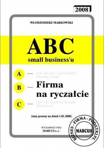 Okładka książki ABC - Firma na ryczałcie - e-book